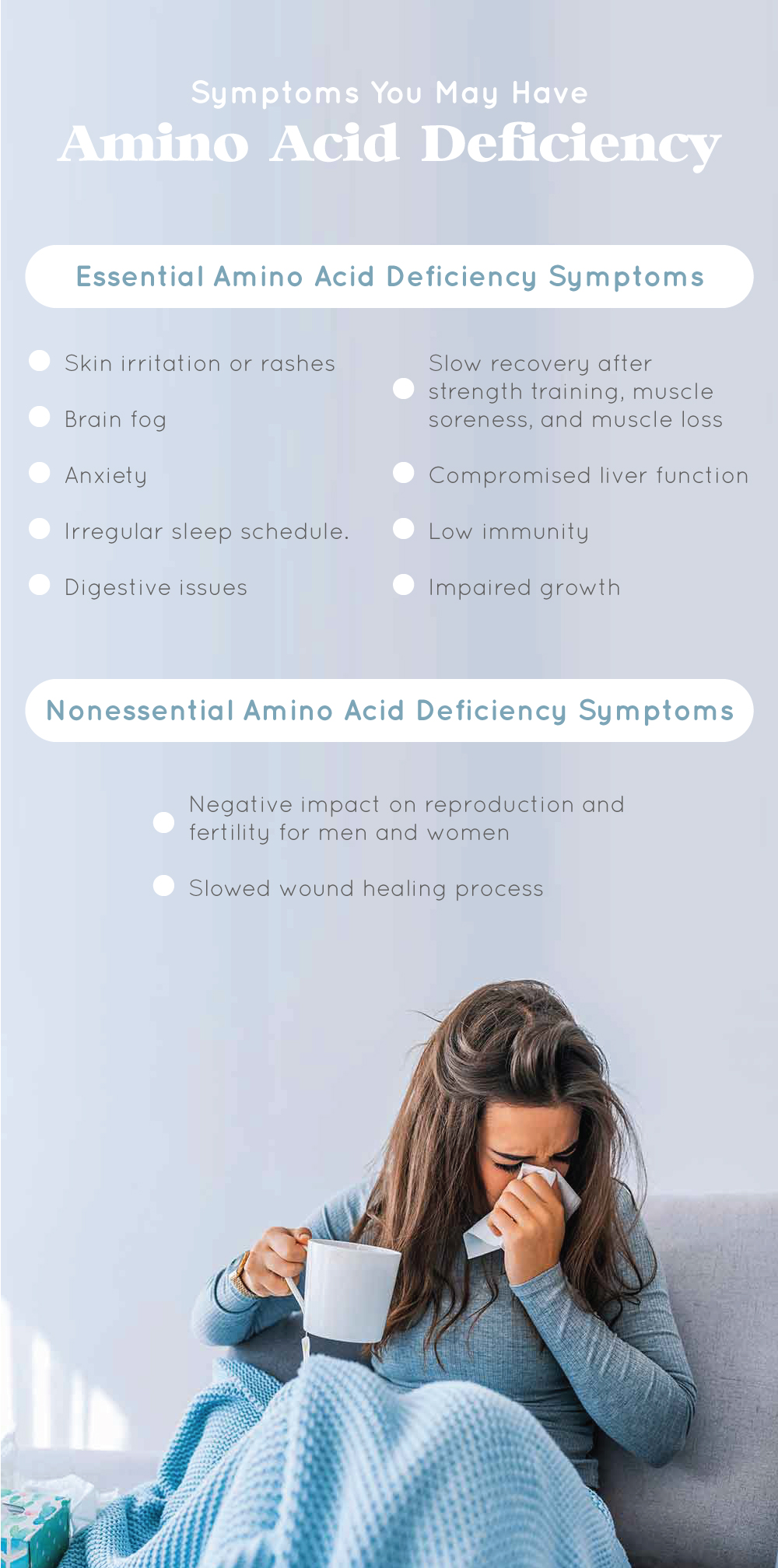 Symptoms You May Have Amino Acid Deficiency