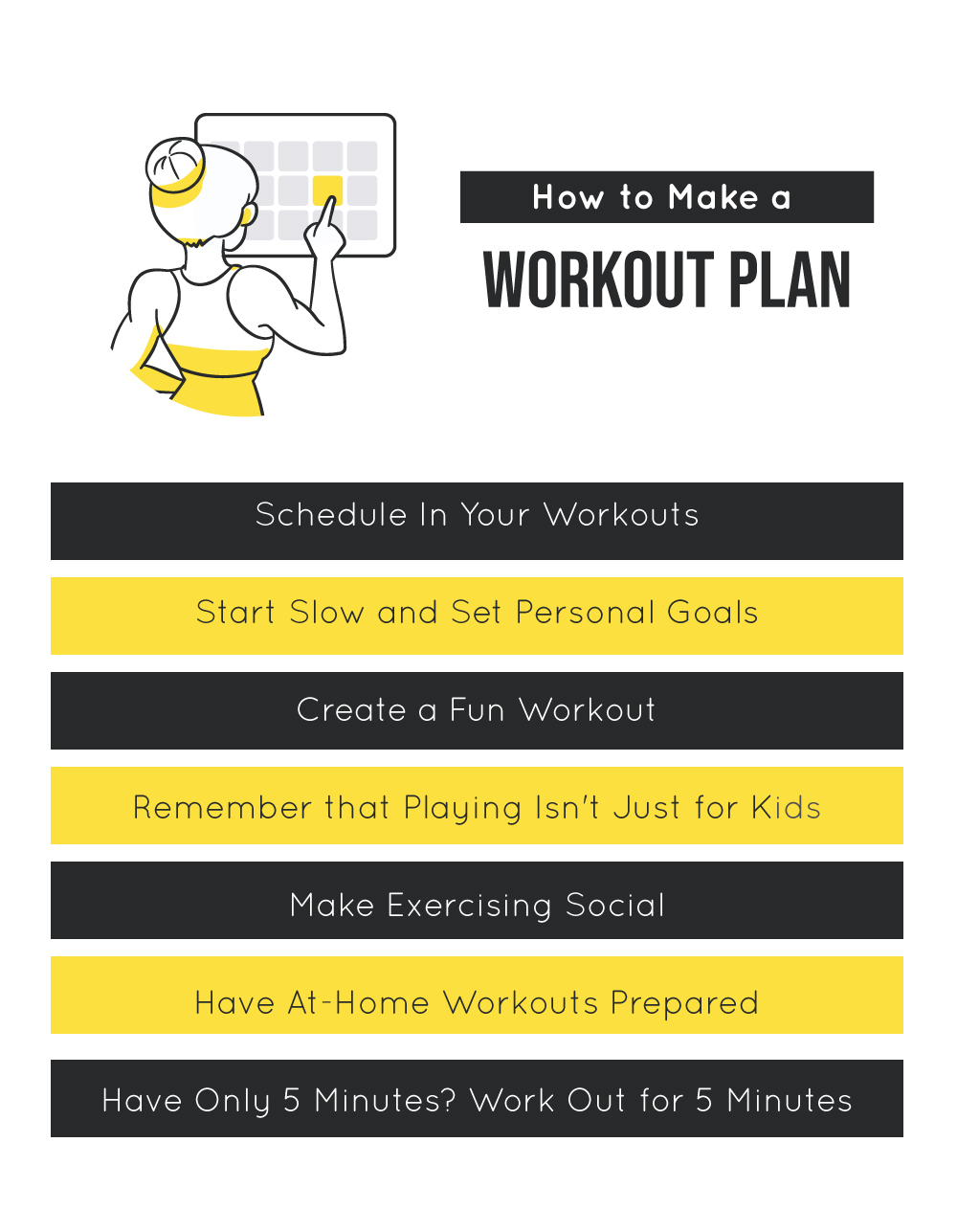 How to Make a Workout Plan