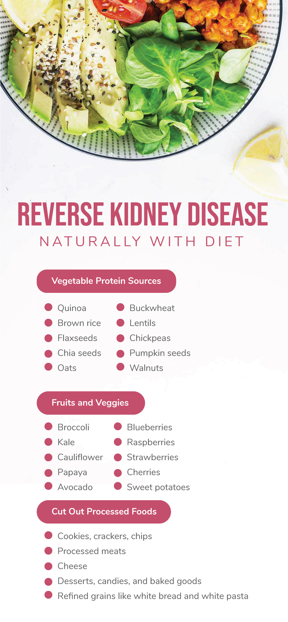 Reverse Kidney Disease Naturally with Diet