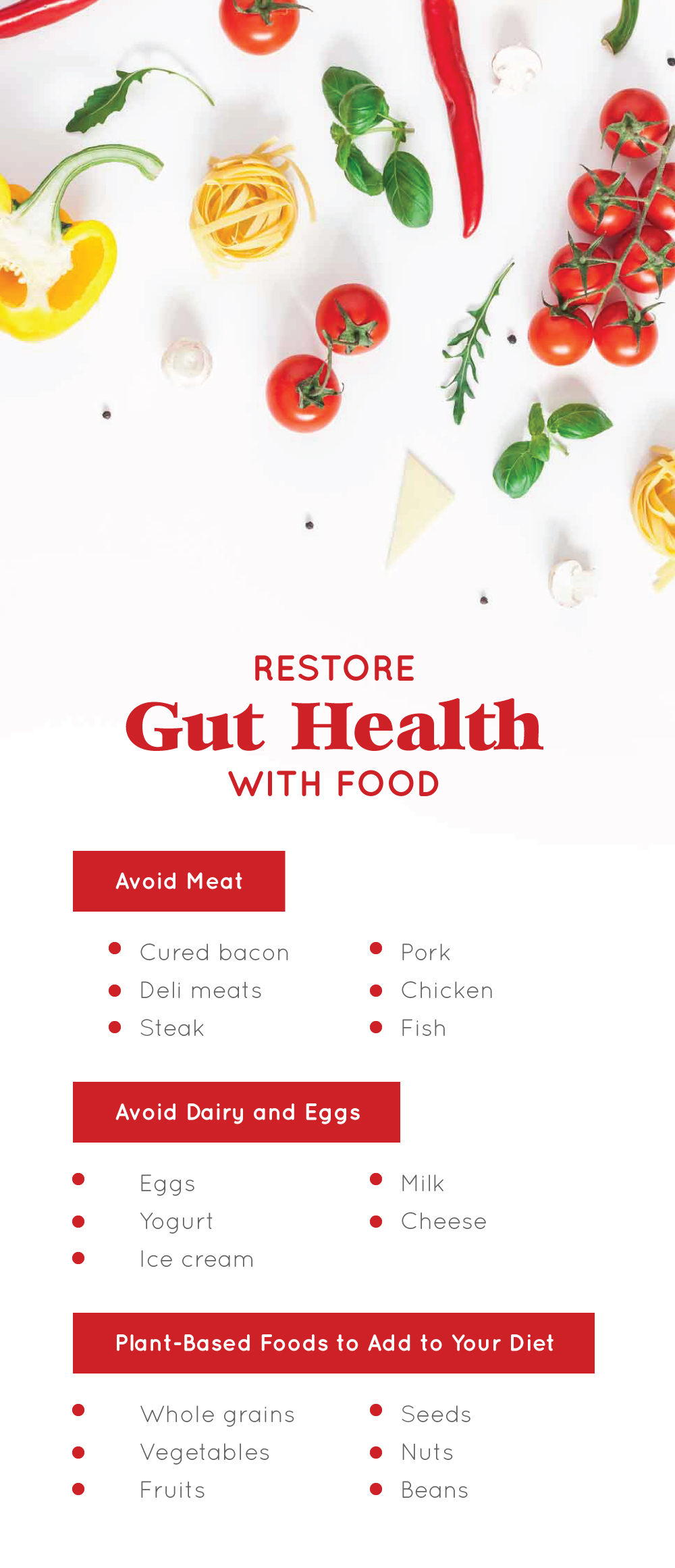 Restore Gut Health with Food