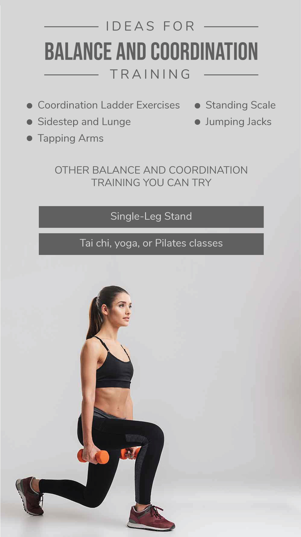 Ideas for Balance and Coordination Training