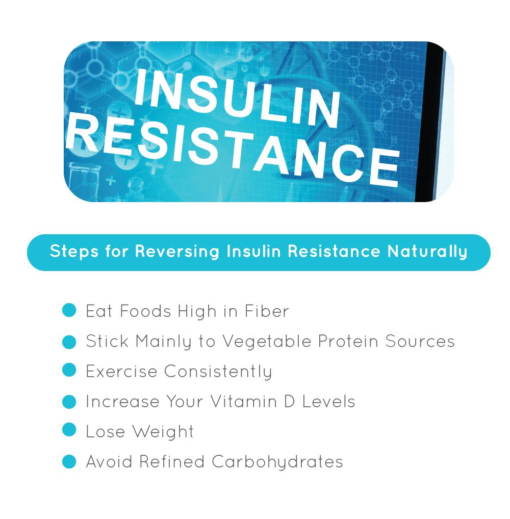 Steps for Reversing Insulin Resistance Naturally