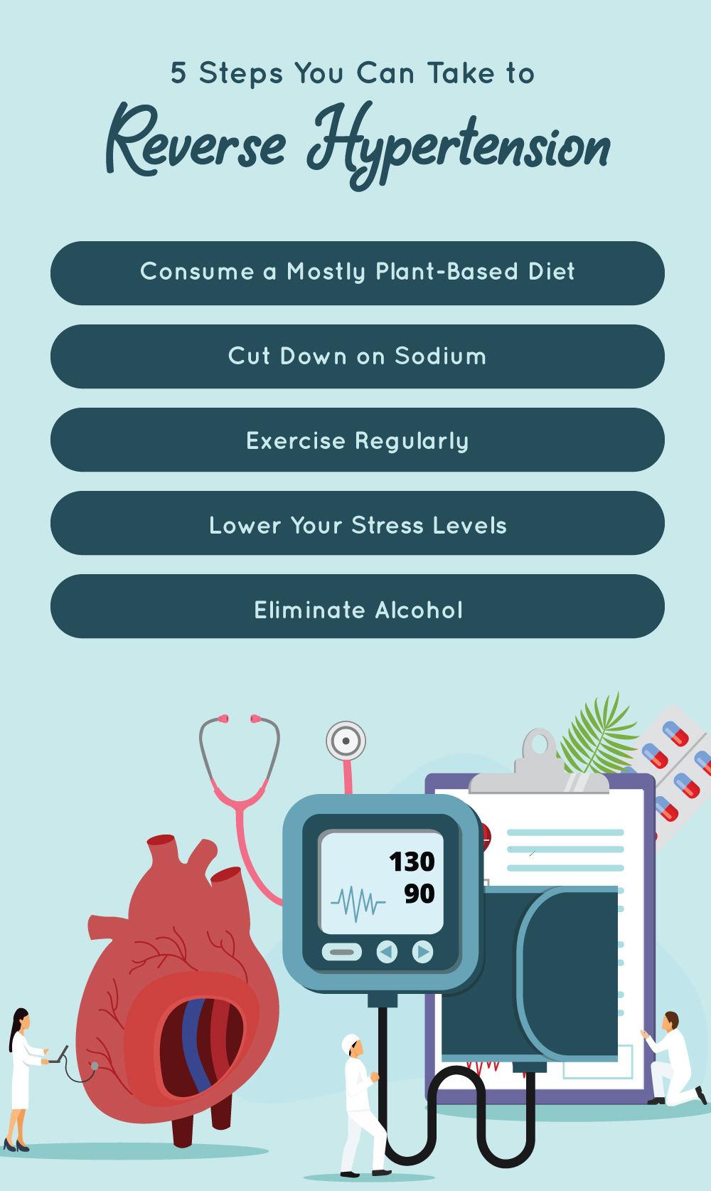 4 Steps You Can Take to Reverse Hypertension