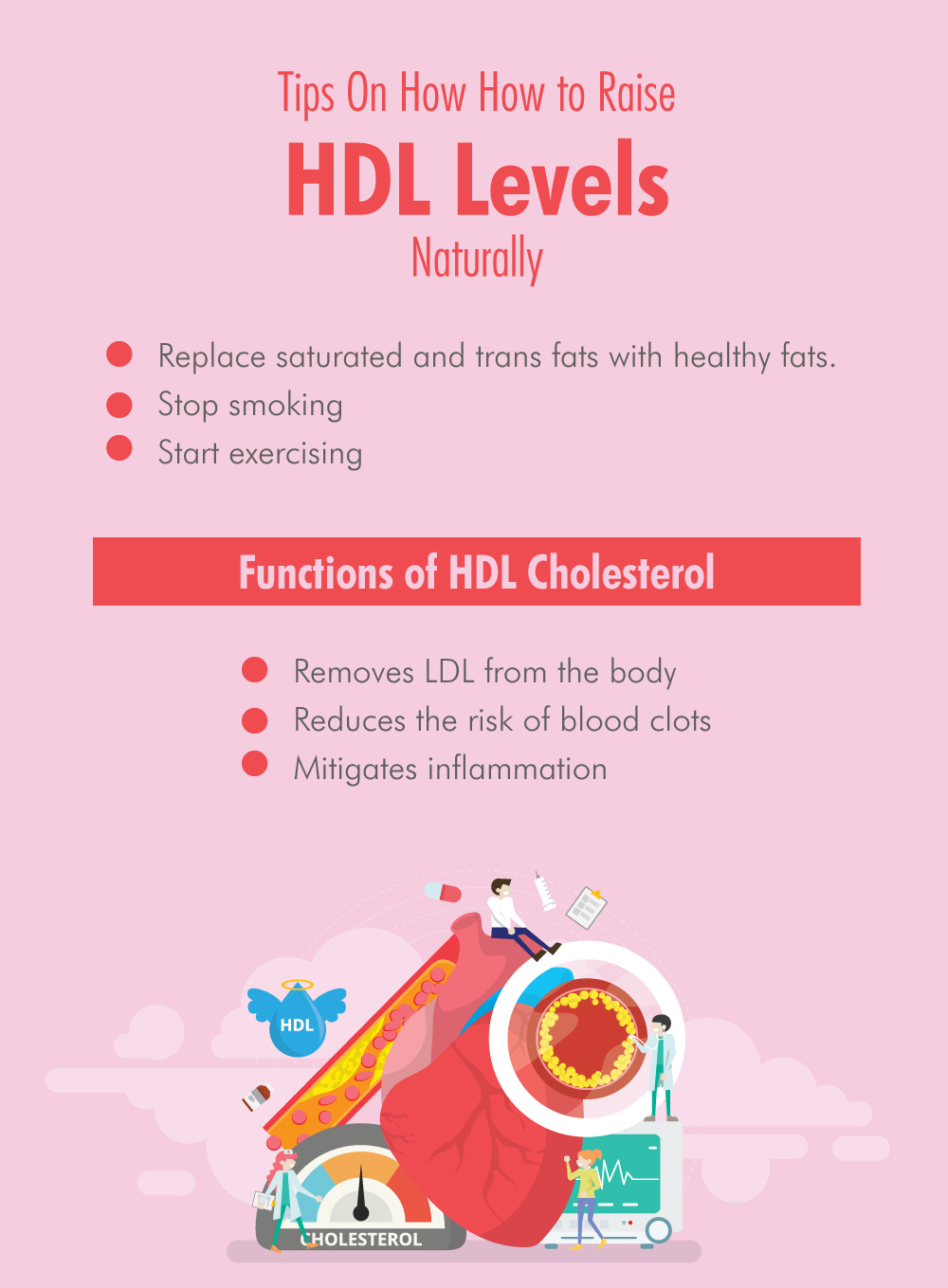 Tips On How How to Raise HDL Levels Naturally
