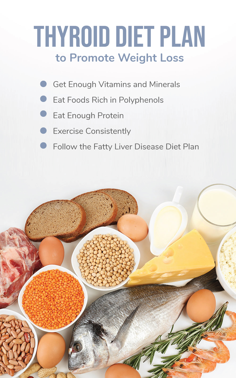 Thyroid Diet Plan to Promote Weight Loss