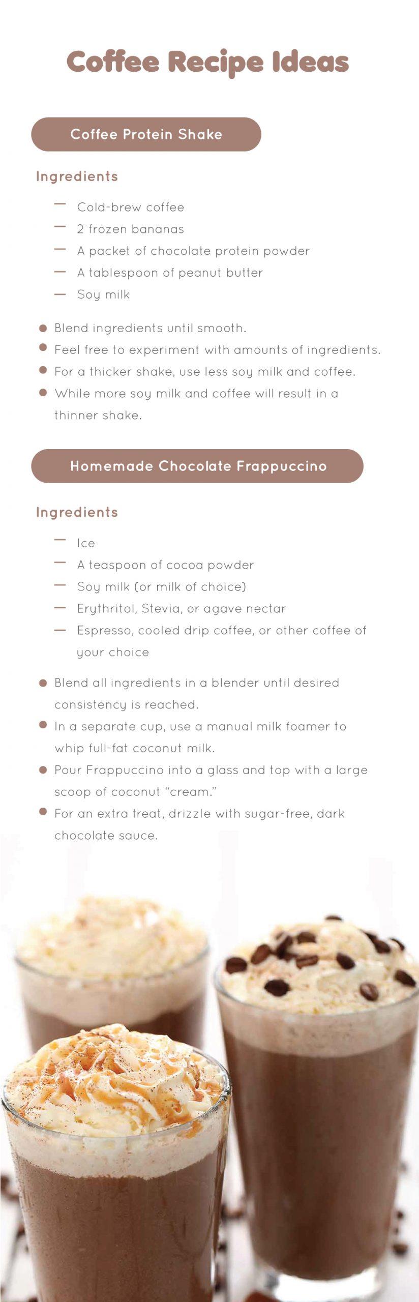 Coffee Recipe Ideas