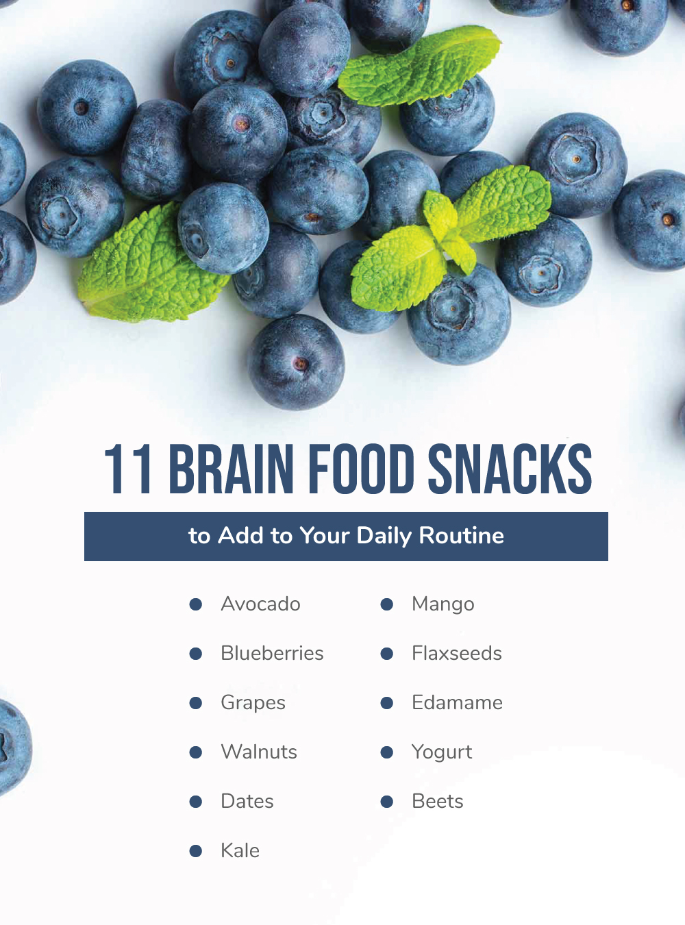 11 Brain Food Snacks to Add to Your Daily Routine