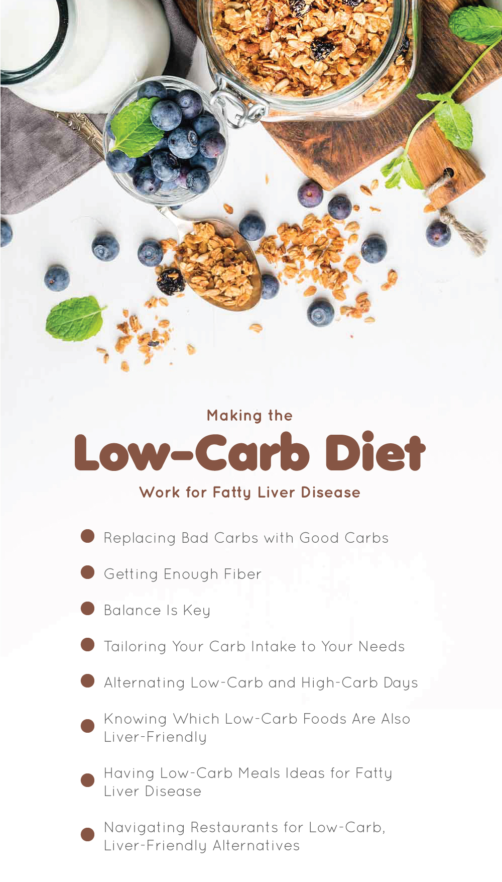 Making the Low-Carb Diet Work for Fatty Liver Disease