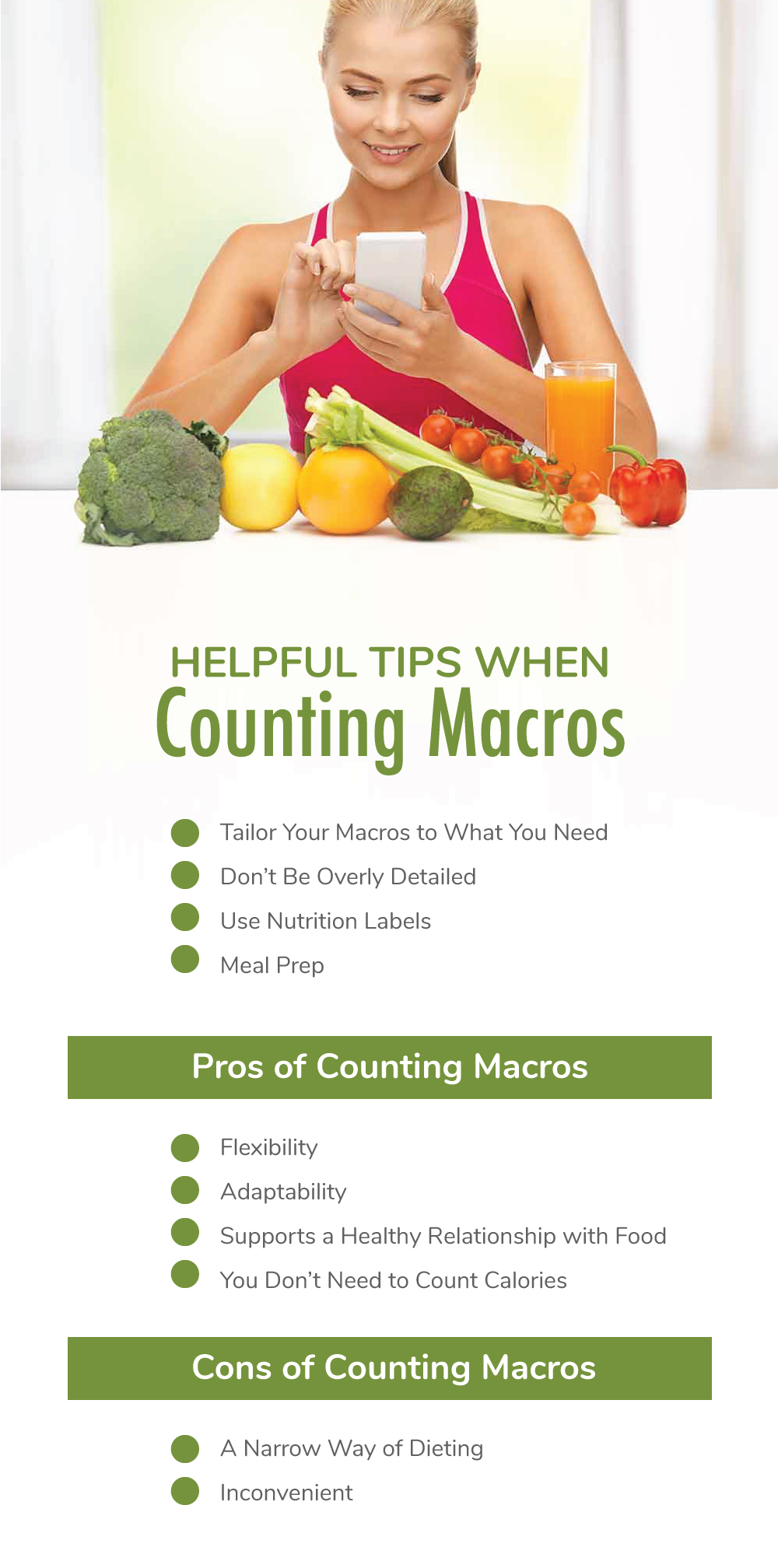 Helpful Tips When Counting Macros