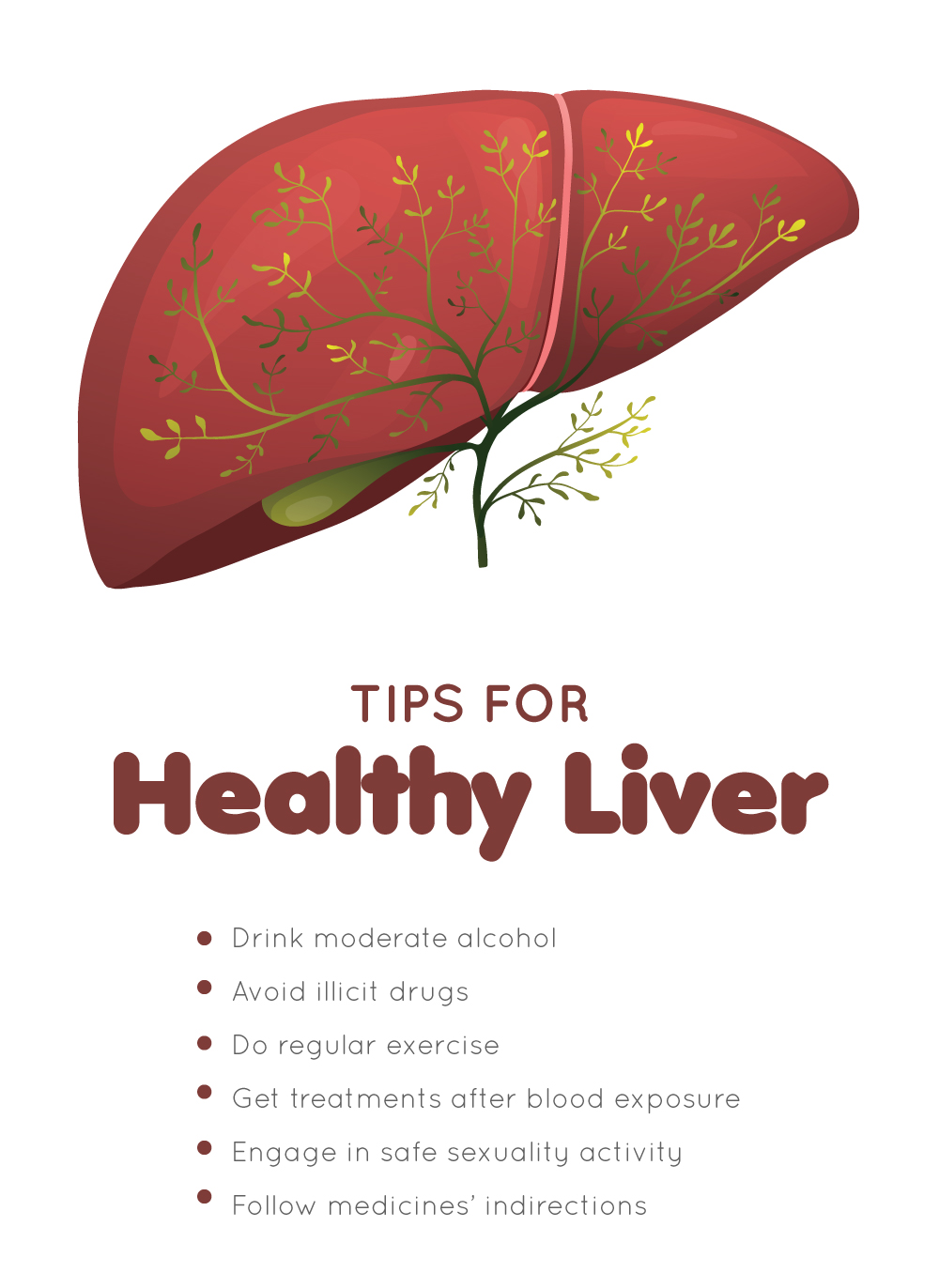 Tips for healthy Liver
