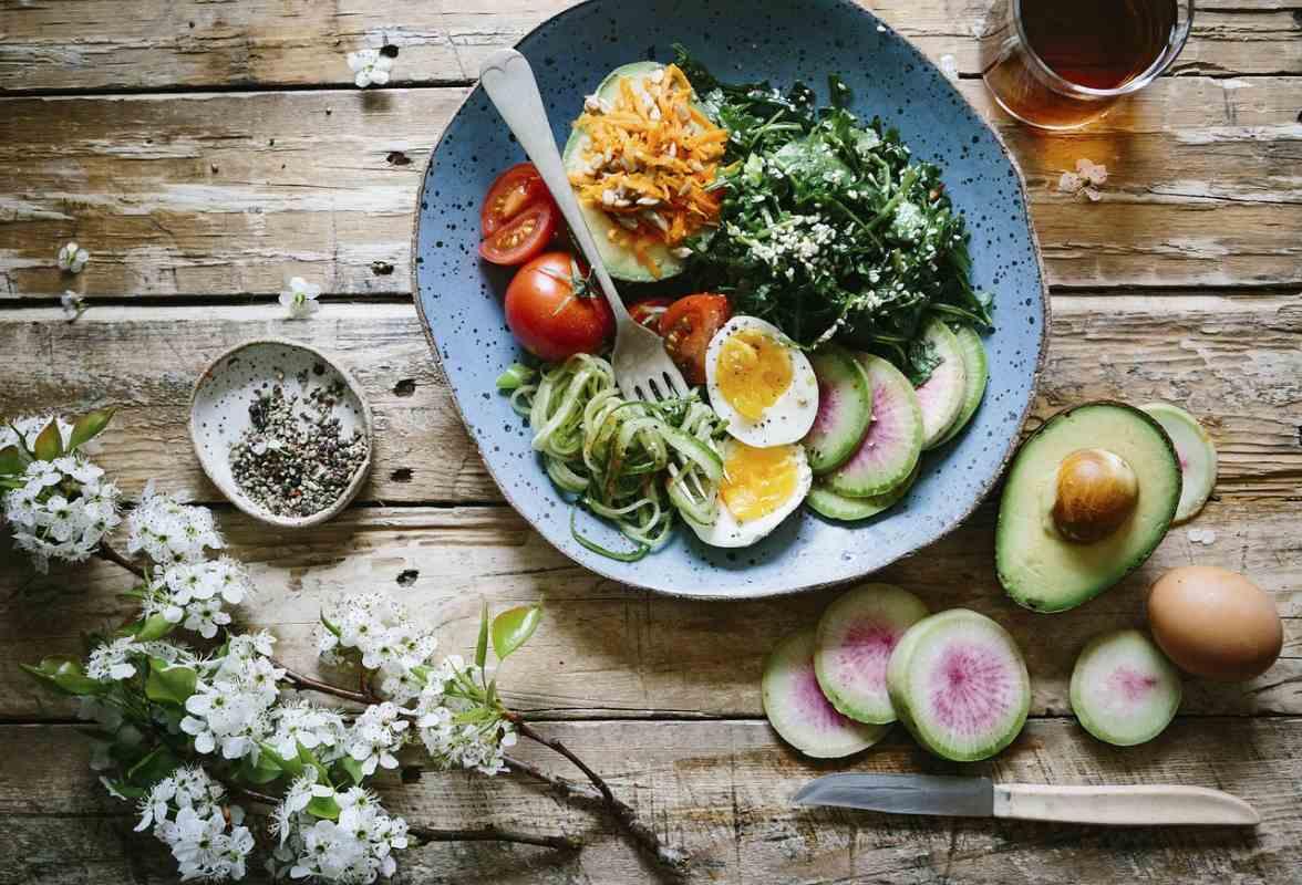 Healthy diet for jaundcie