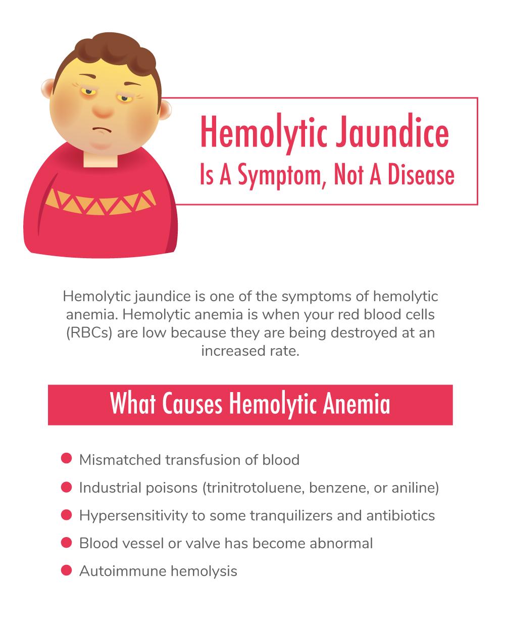 Hemolytic Jaundice Is A Symptom, Not A Disease