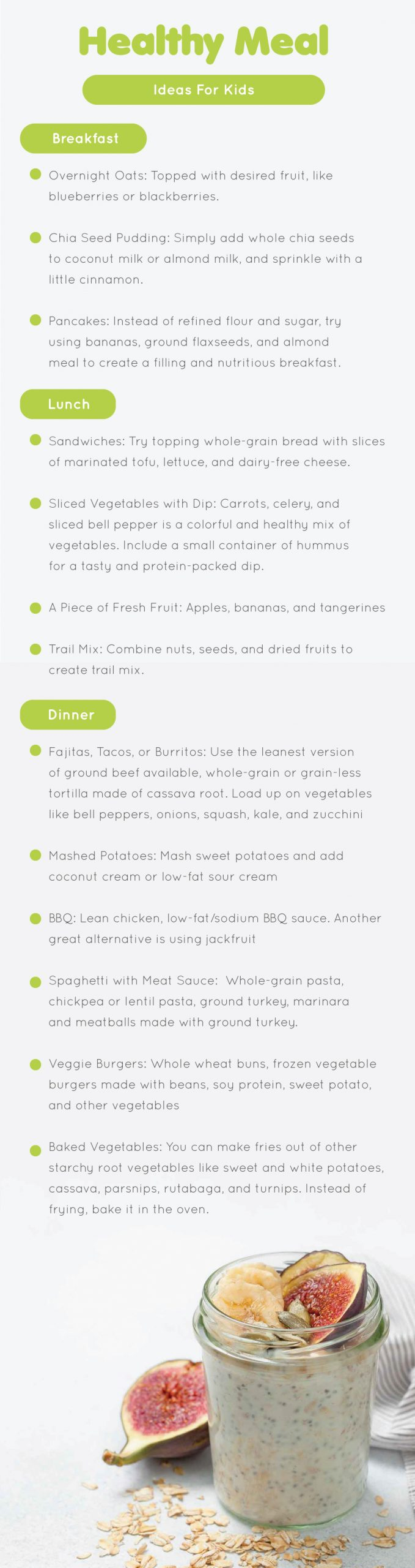 Healthy Meal Ideas For Kids