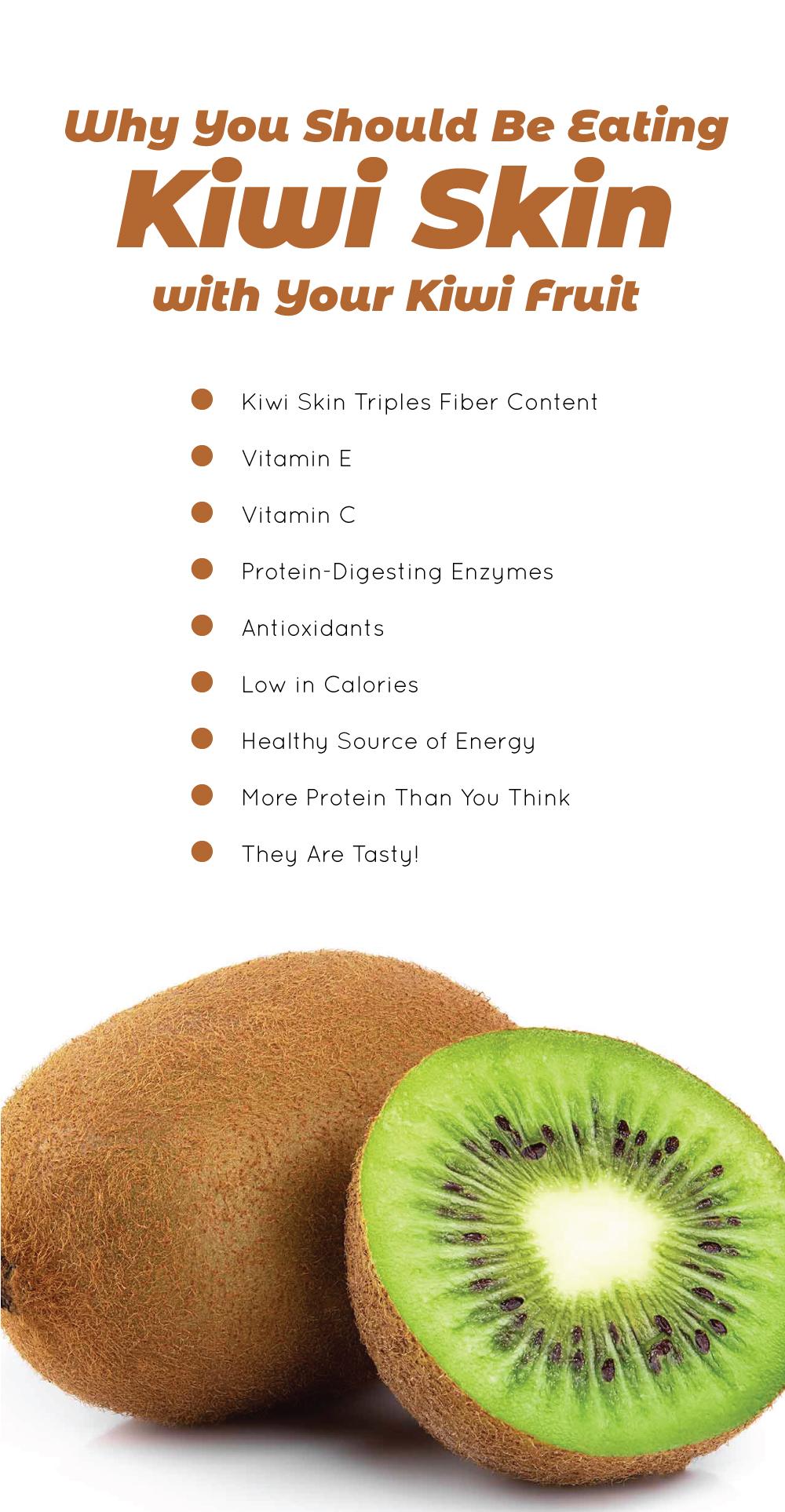Why You Should Be Eating Kiwi Skin with Your Kiwi Fruit
