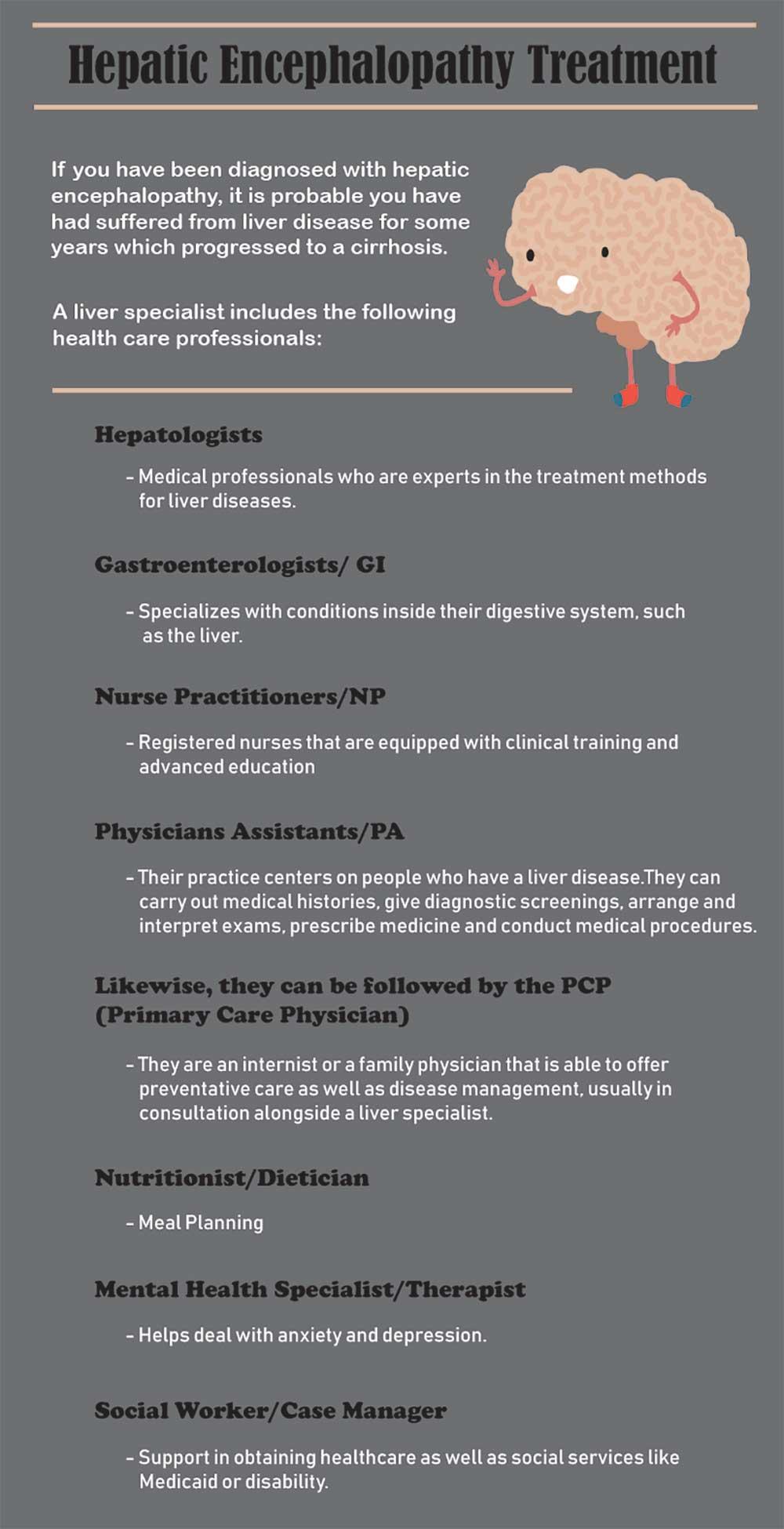 Hepatic Encephalopathy Treatment