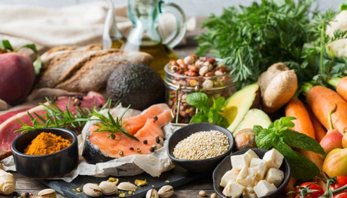 Foods for mediterranean diet