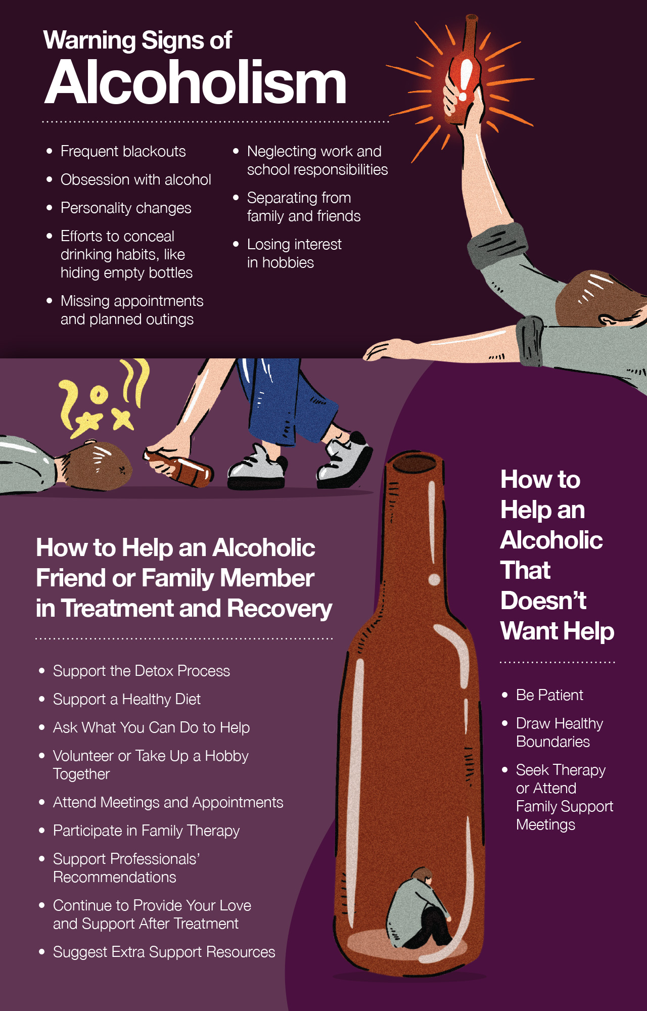 Warning Signs of Alcoholism