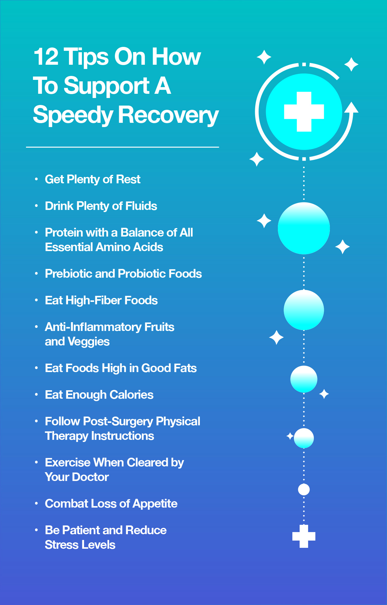 12 Tips On How To Support A Speedy Recovery