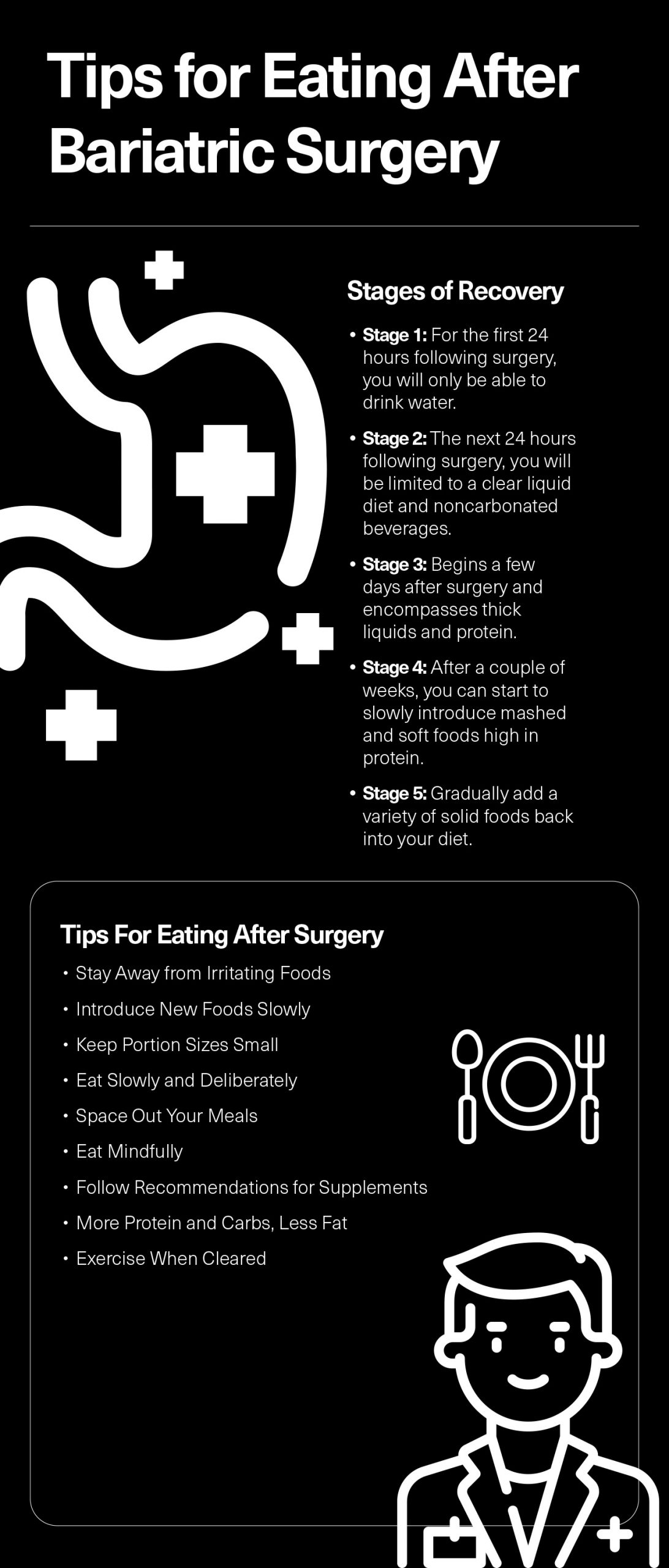 Tips for Eating After Bariatric Surgery