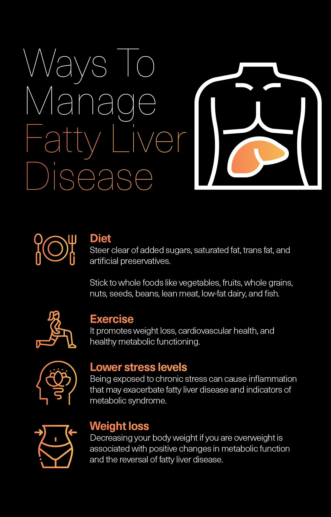 Ways To Manage Fatty Liver Disease