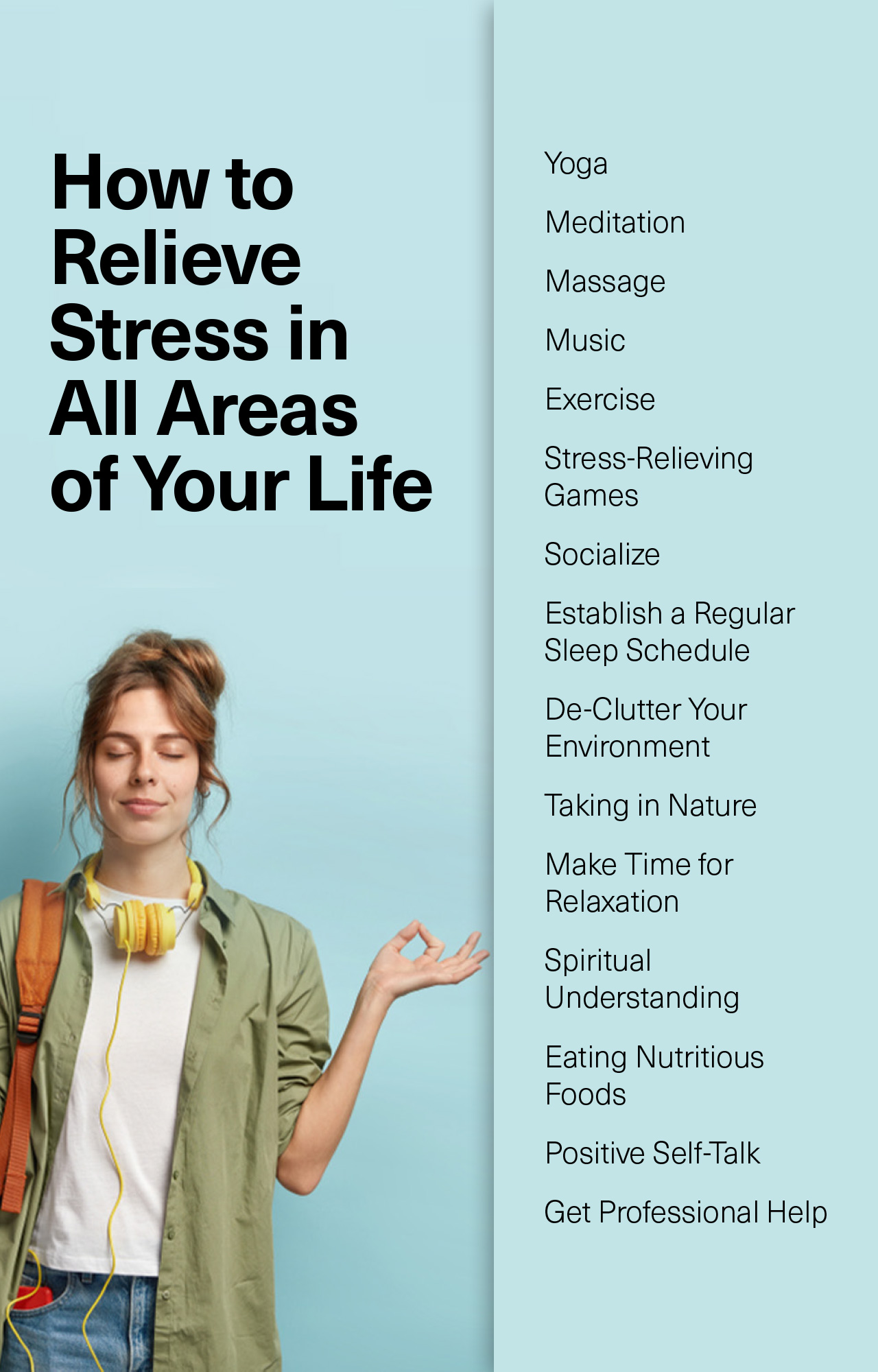 How to Relieve Stress in All Areas of Your Life