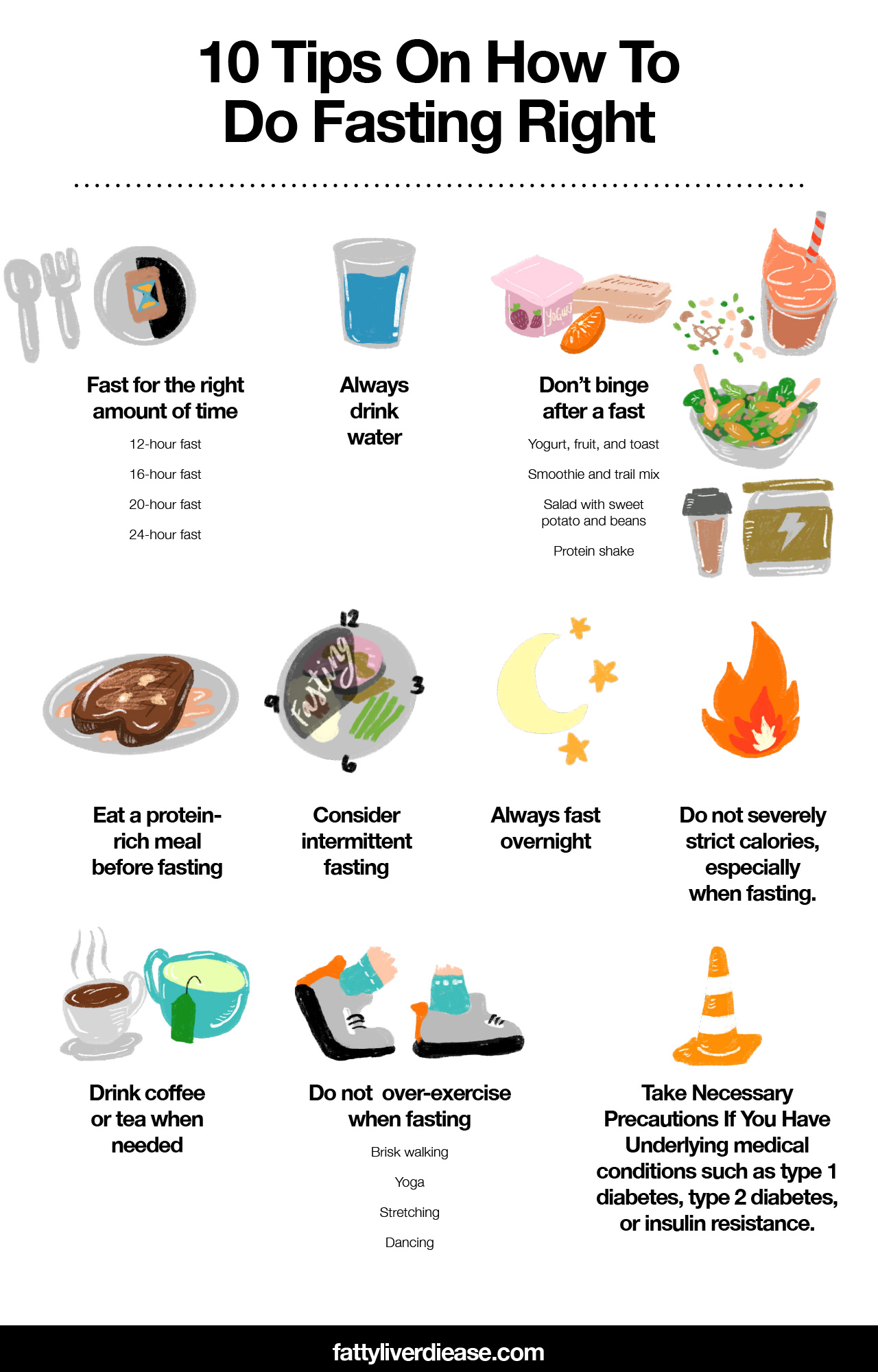 10 Tips On How To Do Fasting Right