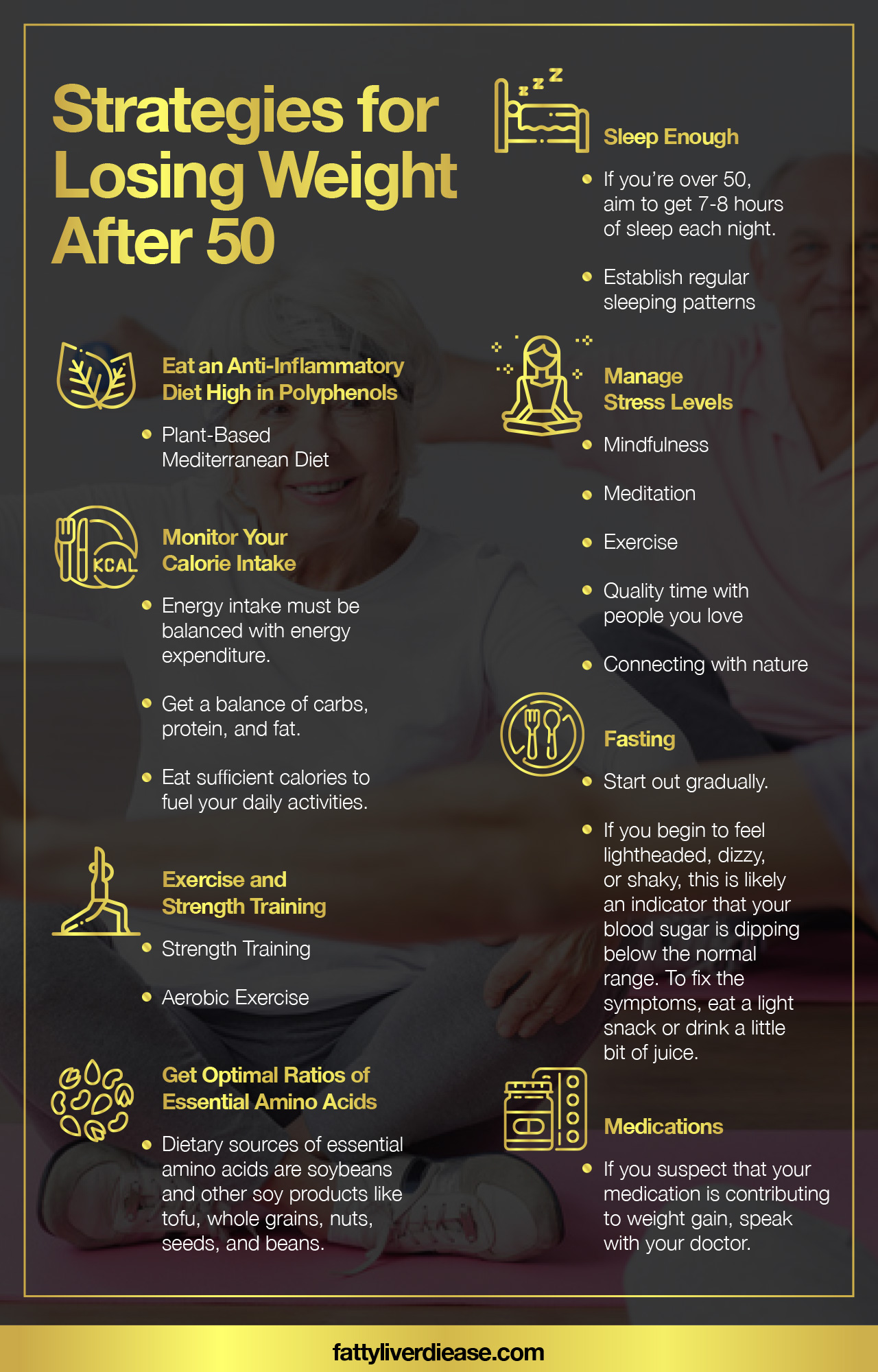 Strategies for Losing Weight After 50