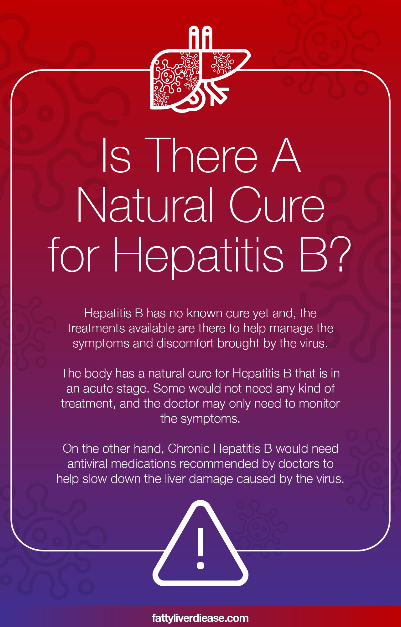 Is There A Natural Cure For Hepatitis B?