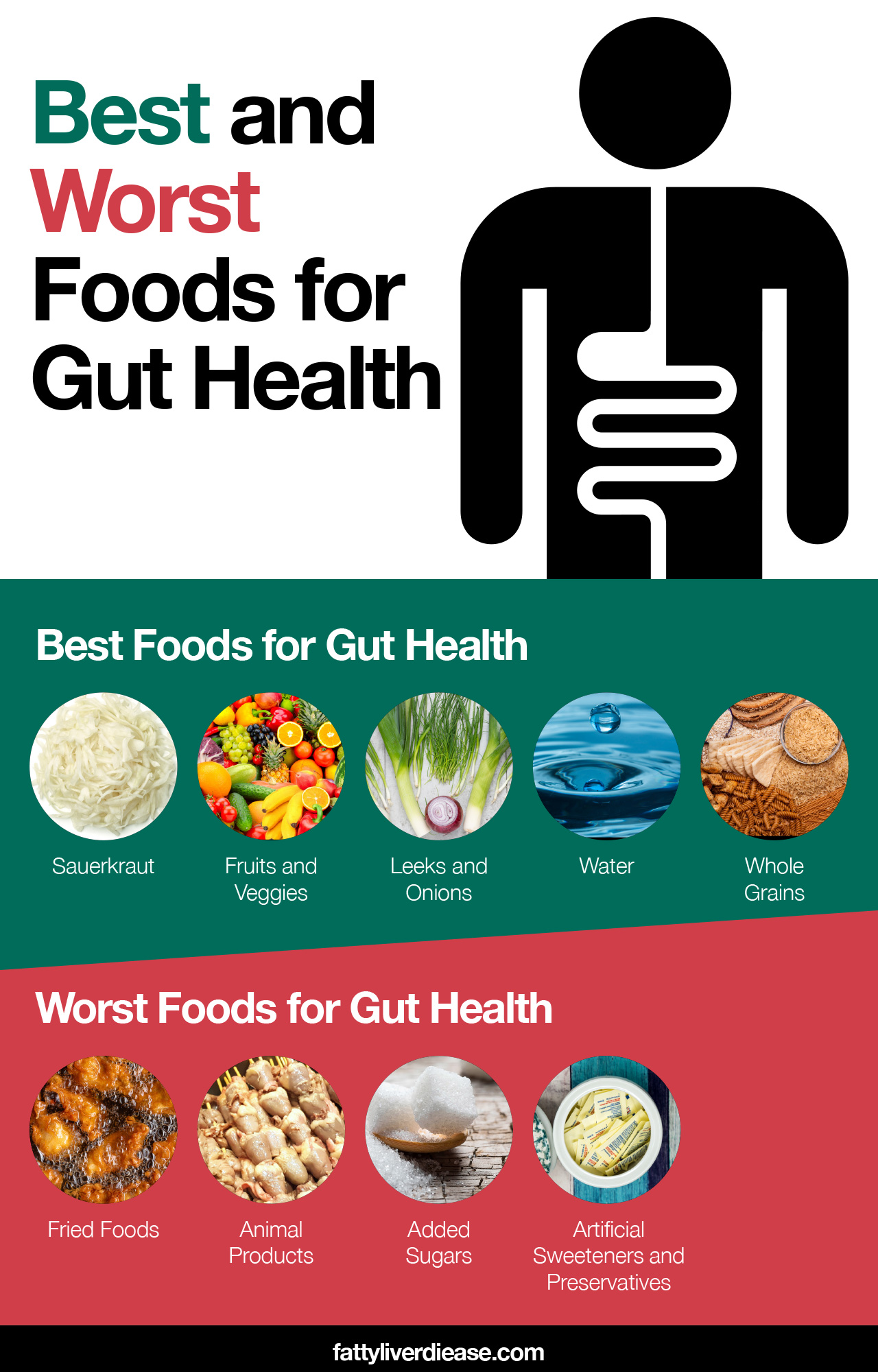 Best and Worst Foods for Gut Health