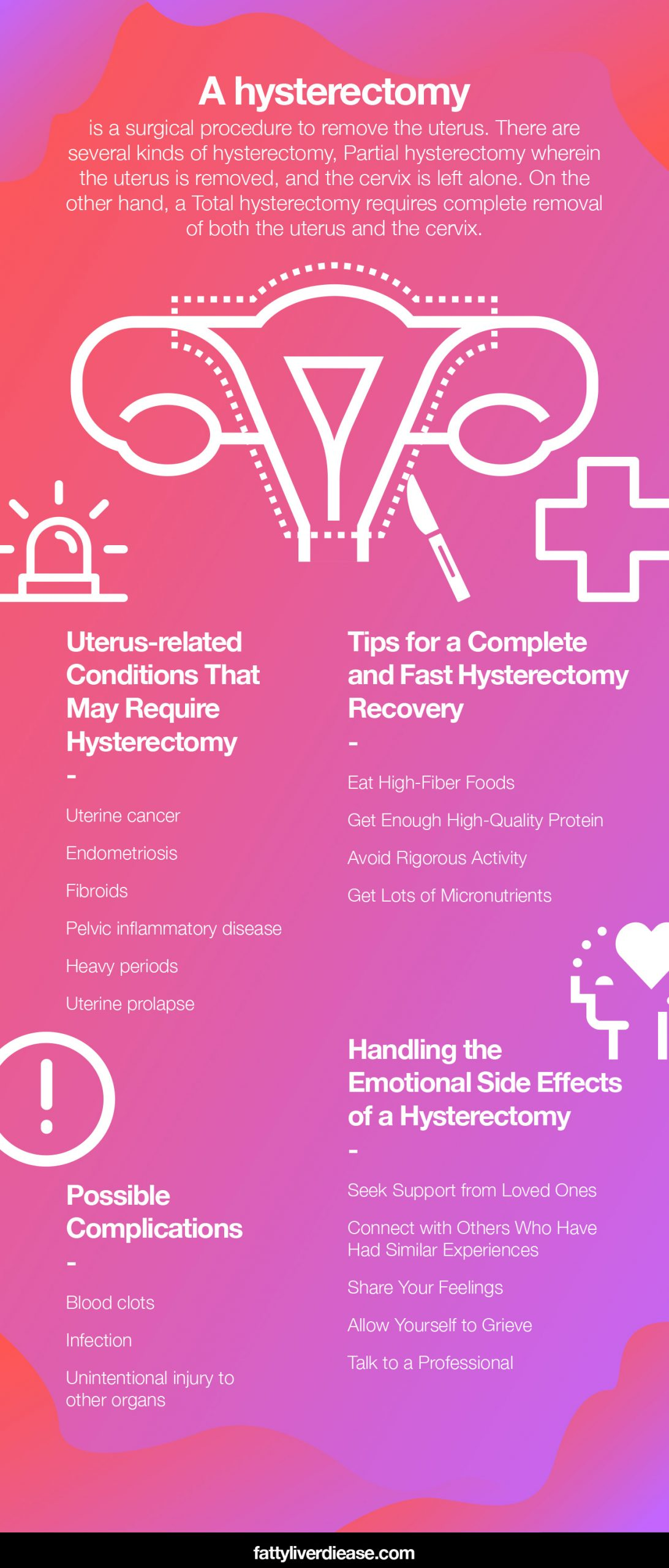Tips for a Complete and Fast Hysterectomy Recovery