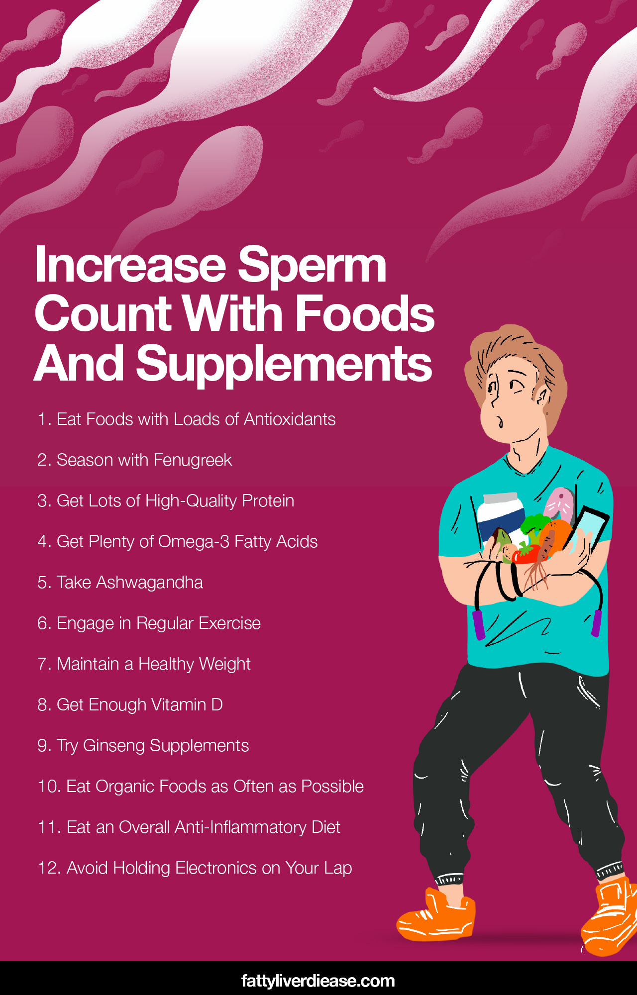 Increase Sperm Count With Foods And Supplements