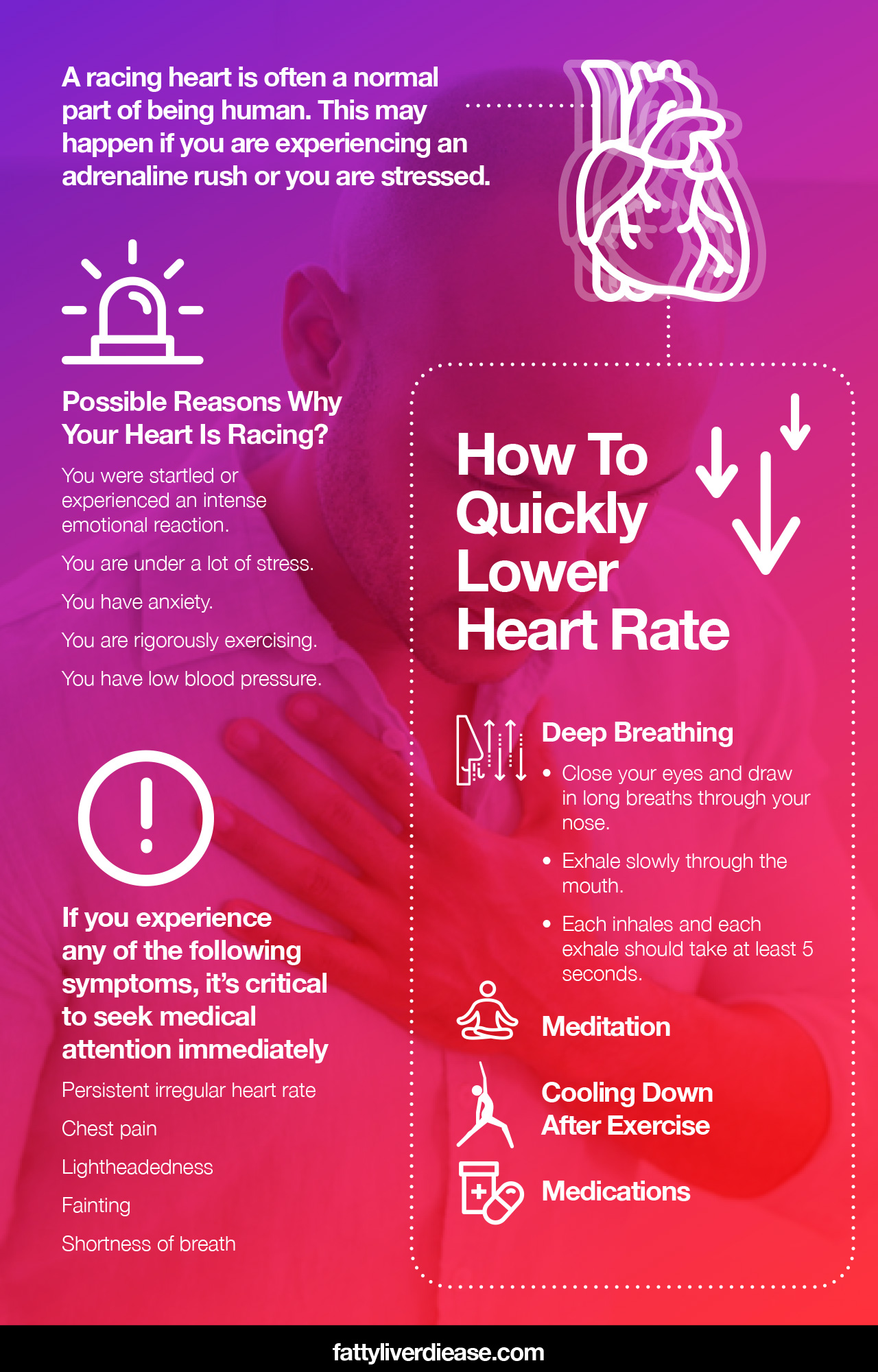 Possible Reasons Why Your Heart Is Racing?