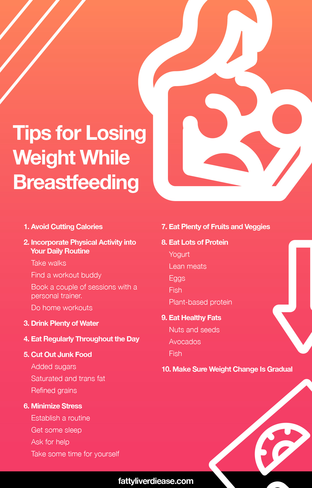 How to Lose Weight While Breastfeeding
